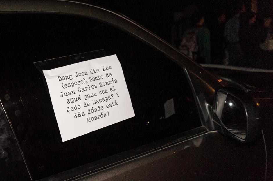 El esposo de la diputada Guzmán fue acusado de corrupción. (Foto: Colectivo Jóvenes de Guatemala)
