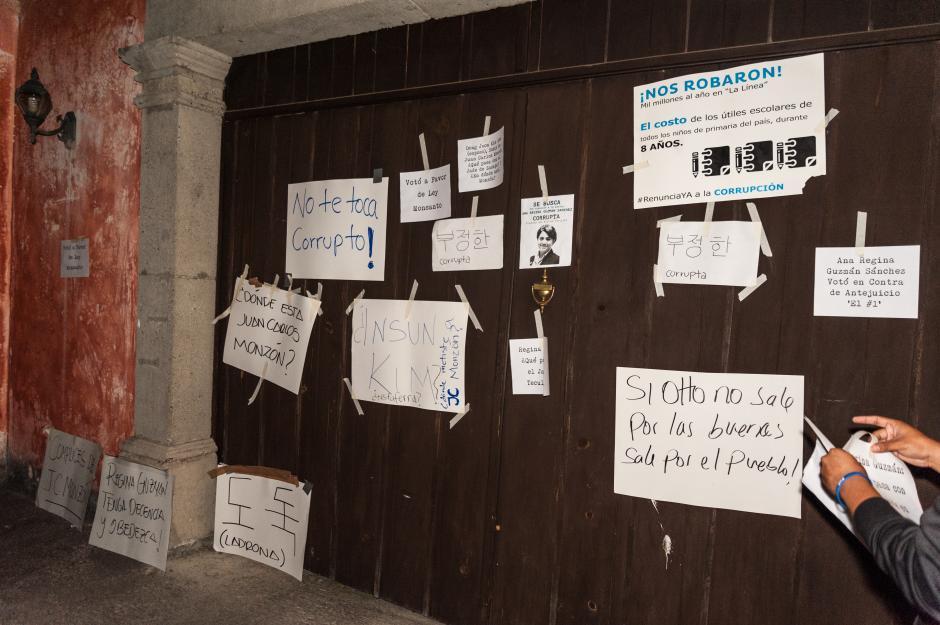El Colectivo Jóvenes pde Guatemala exigió reformas a la Ley Electoral y de Partidos Políticos. (Foto: Colectivo Jóvenes de Guatemala)