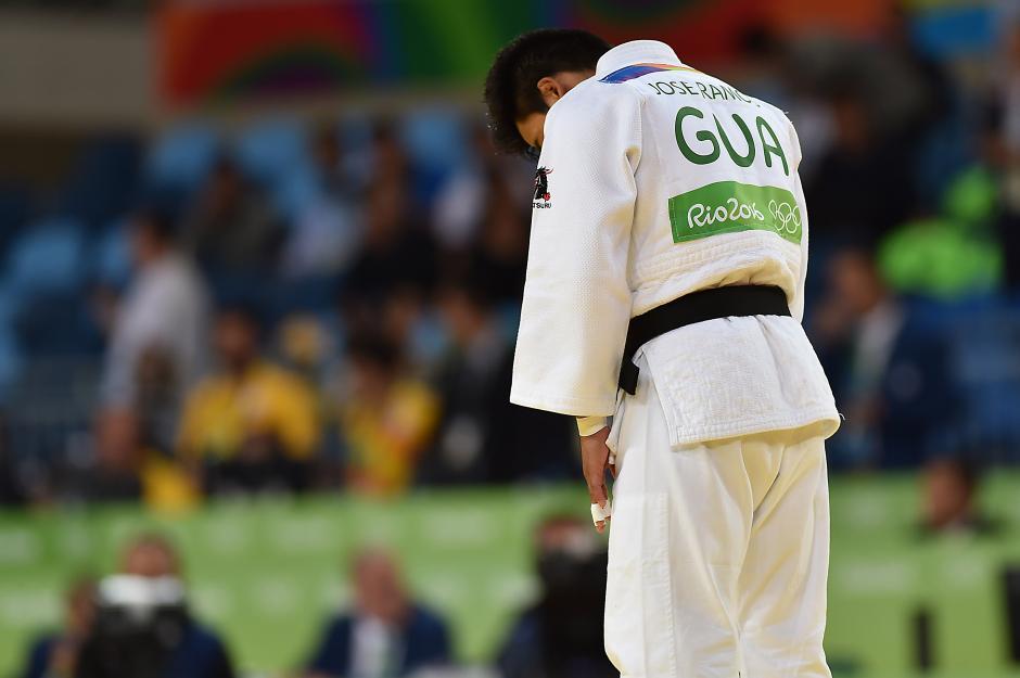 El judoca cobanero, José Ramos, cayó en su debut en Juegos Olímpicos. (Foto: Sergio Muñoz/Enviado ACD)