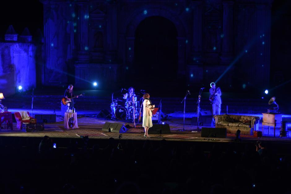 Gaby ha cerrado con este concierto sus presentaciones en Guatemala, las cuales tenían como objetivo celebrar la conquista del Grammy Latino.(Foto: Ximena Díaz/Soy502)