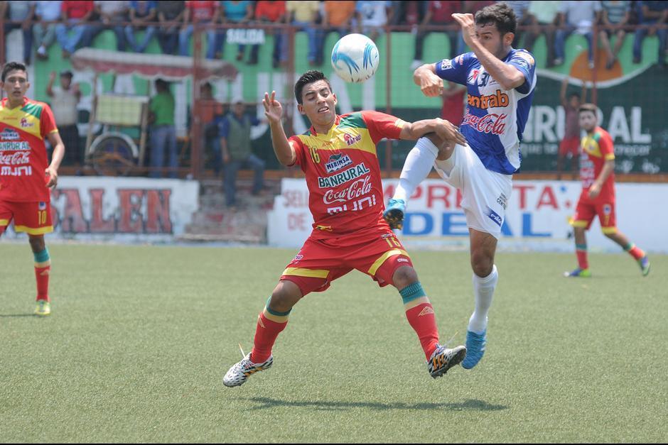 Malacateco recibe a Suchitepéquez foto soy502