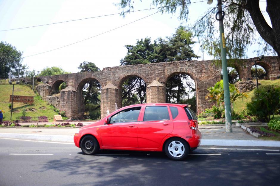 El trayecto más grande y visible se encuentra en el boulevard Liberación, de la Ciudad de Guatemala. (Foto: Jesús Alfonso/Soy502)