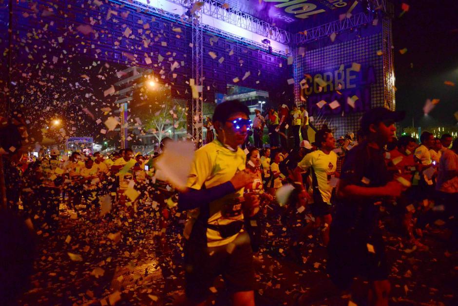 Una fiesta deportiva se vivió en la salida y en la meta de la carrera 10k de la Ciudad de Guatemala. (Foto: Jesús Alfonso/Soy502)