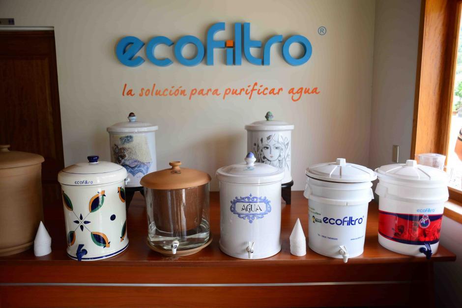 Ecofiltro es un filtro cerámico para potabilizar el agua inventado en 1980 y que se distribuye en diferentes presentaciones según el gusto y las posibilidades del consumidor. (Foto: Jesús Alfonso/Soy502)