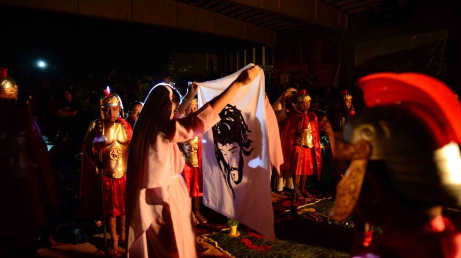 El evento se realiza para que los niños conozcan la historia de Cristo. (Foto: Jesús Alfonso/Soy502)
