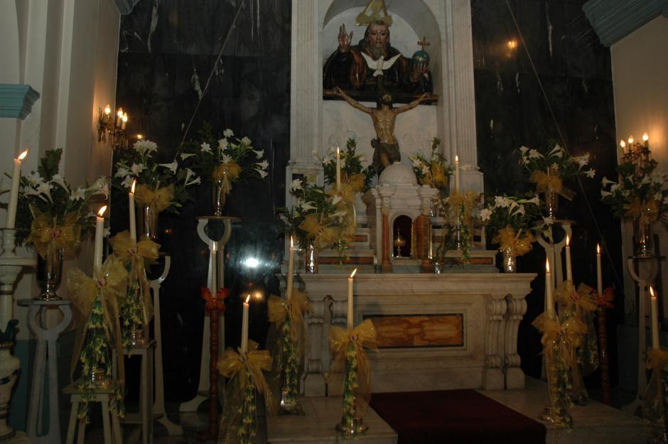Sagrario de la parroquia de San Sebastián. (Foto: Archivo/Nuestro Diario)