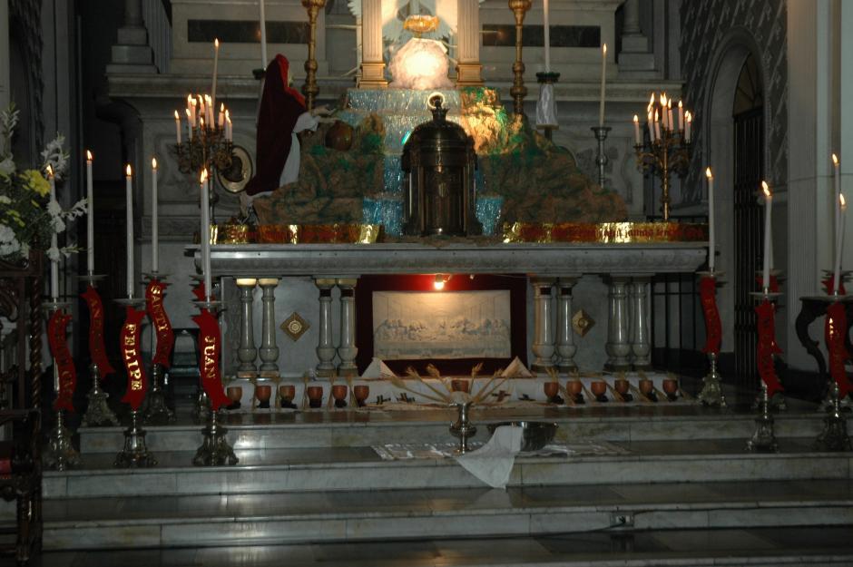 Sagrario de la iglesia del Santuario de Guadalupe. (Foto: Archivo/Nuestro Diario)