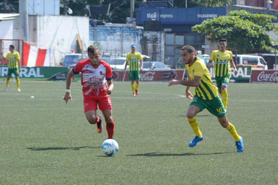 El juego de vuelta se celebró en el estadio Santa Lucía, en Malacatán, San Marcos. (Foto: Nuestro Diario)