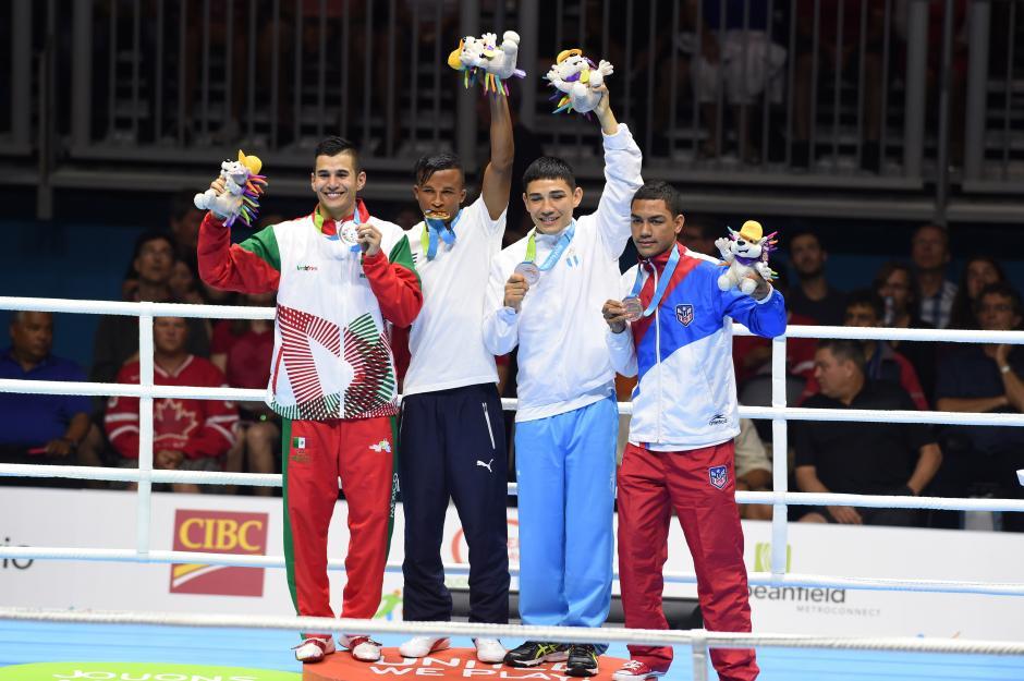 El boxeador gautemalteco Kevin Luna ganó medalla de bronce, en la categoría de 60 kilogramos. (Foto: Alvaro Yool/Nuestro Diario)