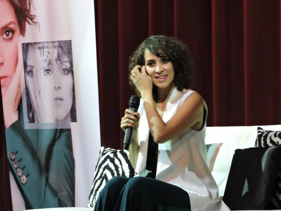 """La cantante nacional promociona """"Ilusión"""", su quinto disco de estudio. (Foto: Fredy Hernández/Soy502)"""