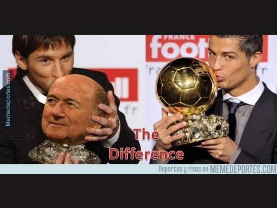 Messi y CR7 blanco de los memes tras los premios The Best. (Foto: Twitter)
