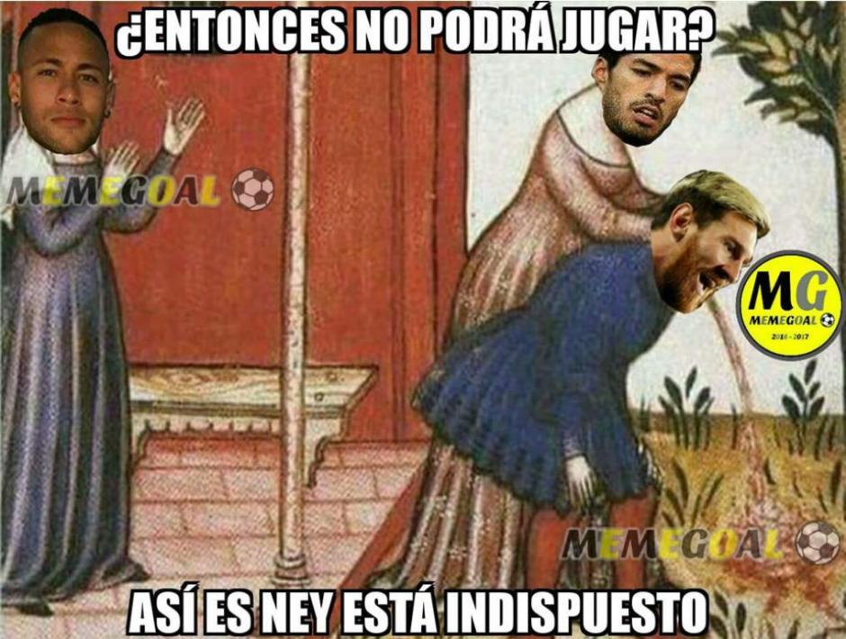 Messi y Suárez tampoco se salvan de los memes. (Foto: Twitter)
