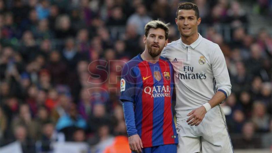 Durante el partido Cristiano marcó y bromeó con Messi. (Foto: Sport)