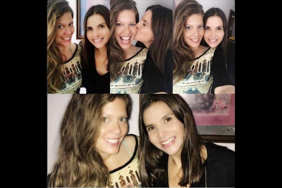 La actriz continúa su amistad con la también actriz Natalia Ramirez, que interpretaba a Marcela Valencia. (Foto: @lornacepeda)