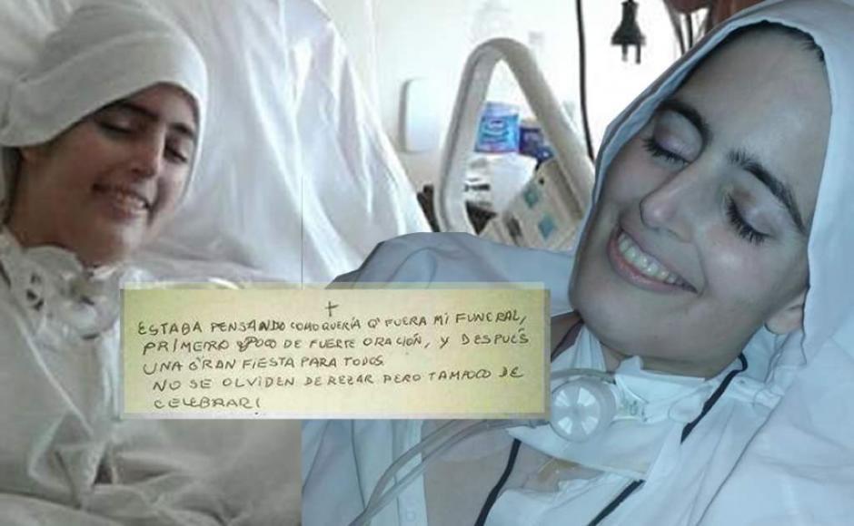 La hermana Cecilia María pidió compartir sus últimos momentos de alegría en las redes sociales. (Foto: Curia Generalizia Carmelita)