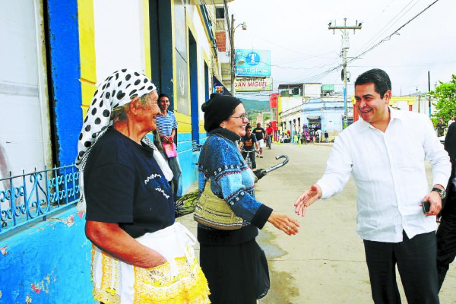 Violencia y crisis económica, son los desafios del nuevo presidente hondureño. Foto:LaPrensahn