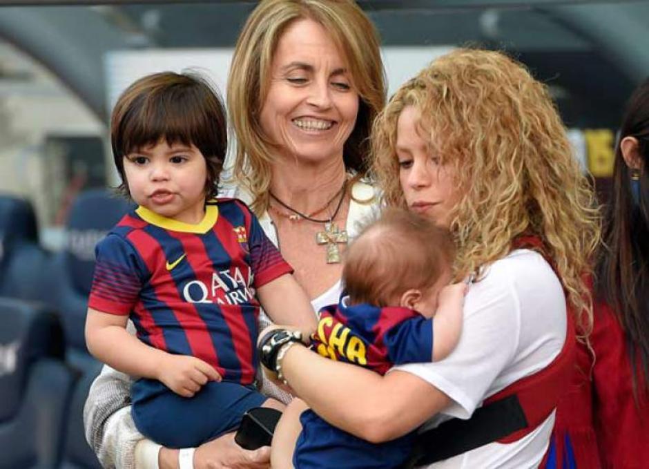 La doctora Bernabéu disfruta todos los momentos que comparte al lado de sus nietos. (Foto: Archivo)