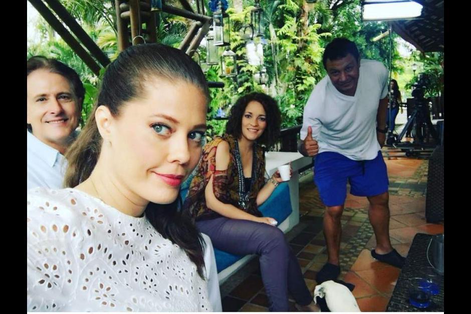 La actriz colombiana es muy activa en redes sociales. (Foto: @lornacepeda)