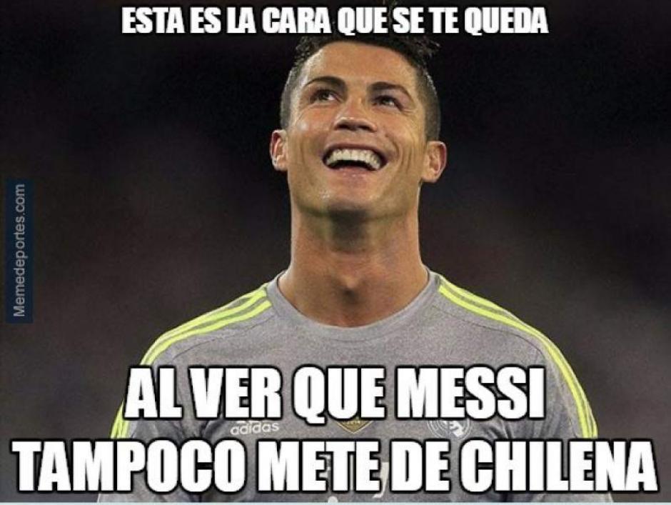 Messi falló una chilena y esto no pasó desapercibido. (Imagen: memedeportes.com)