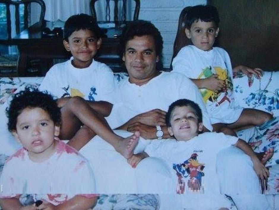 El cantante tuvo cuatro hijos Jean, Hans, Iván, y Joan. (Foto: quien.com)