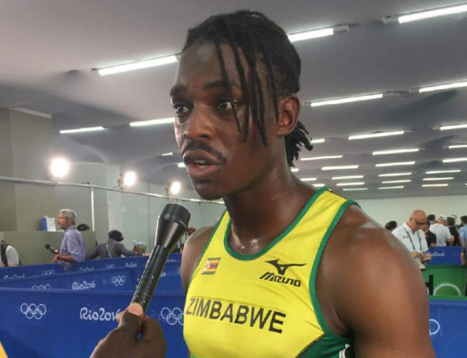 Tetenda Tsunda es uno de los deportistas que representó a Zimbabue  en Río 2016. (Foto: twitter)