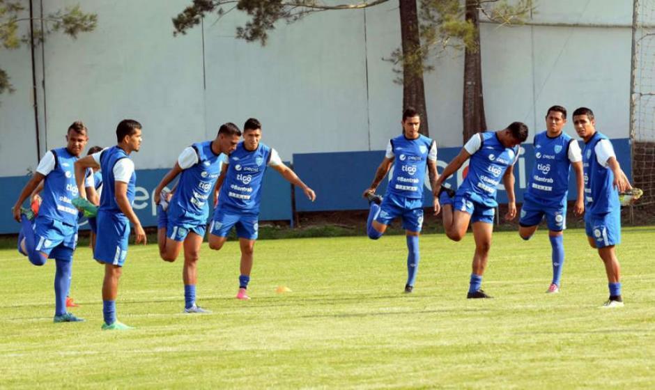 La Sele se preparara para la Copa Centroamericana 2017. (Foto: Soy502)