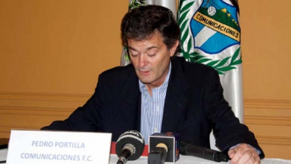 Pedro Portilla es el presidente de Comunicaciones quien incluso presidió al América de México. (Foto: Twitter)