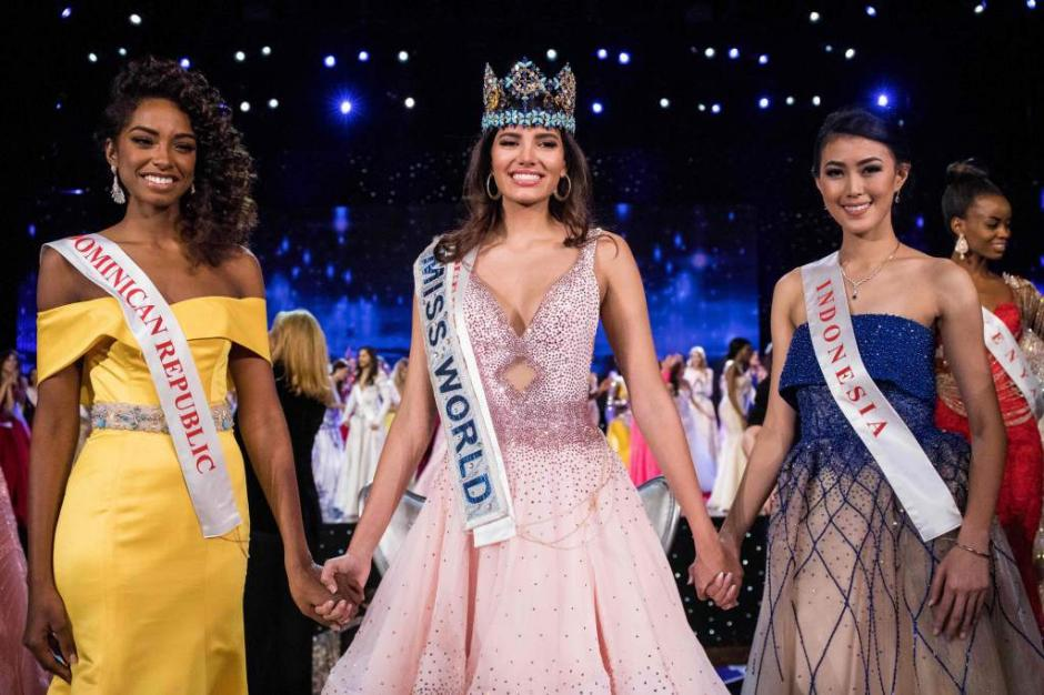 Miss Puerto Rico se coronó como la nueva Miss Mundo 2016. (Foto: El Heraldo)