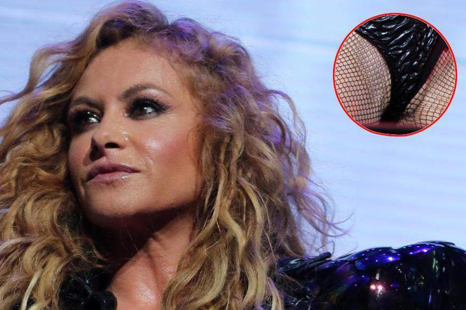 La cantante mexicana no se pronunció luego del incidente