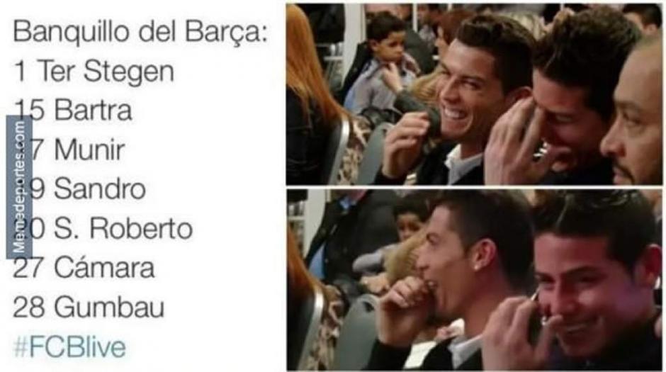 """Los equipos más aludidos con los """"memes"""" fueron el Real Madrid y el Barcelona. (Imagen: laprensa.hn)"""
