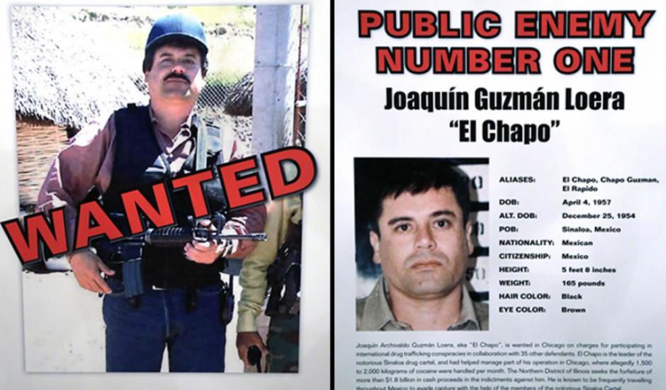El gobierno de Estados Unidos ha catalogado a Joaquín Guzmán Loera, como el enemigo público número uno, especialmente en estados como Chicago y Nueva York. (Foto: Archivo)