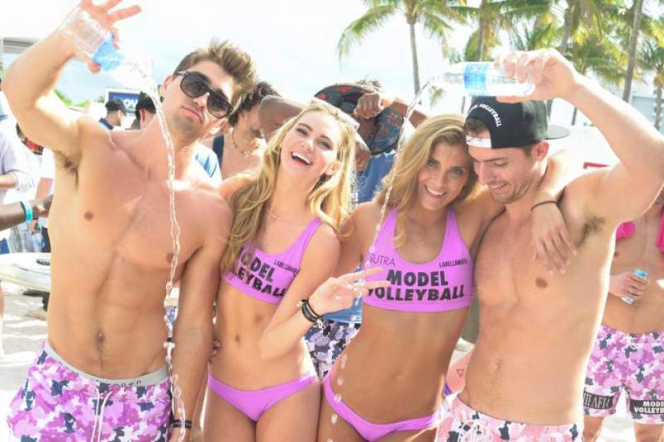 Hombres y mujeres del mundo del modelaje se reunieron en Miami. (Foto: Diez)