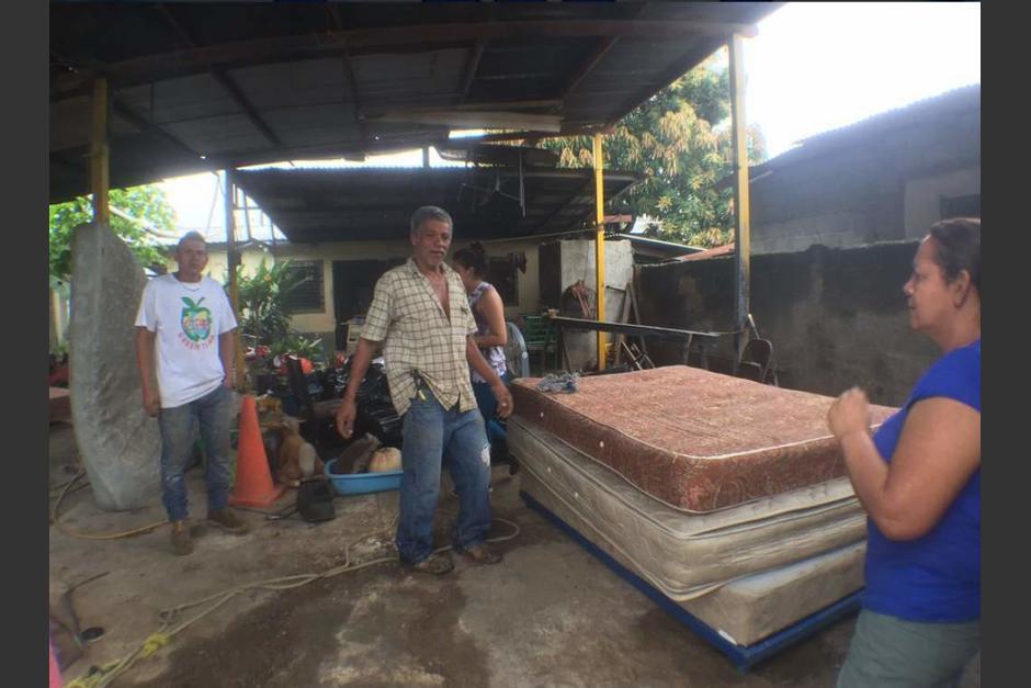 Una colonia completa fue desalojada en San Pedro Sula. (Foto: www.elheraldo.hn)