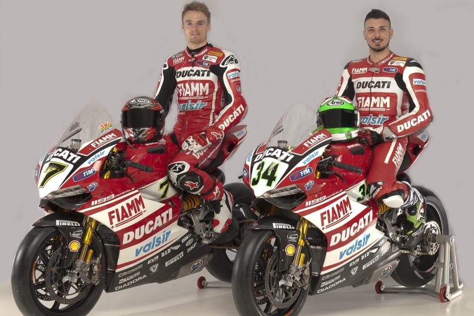 Ducati ha ganado 31 Campeonatos Mundiales de Superbike, 17 como fabricante y 14 con pilotos
