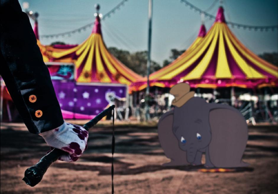 Dumbo sufriría maltrato animal. (Imagen: disneyunhappilyeverafter)