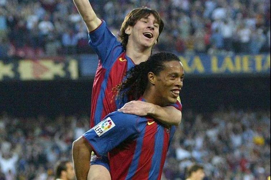 El brasileño y el argentino jugaron juntos varias temporadas y deslumbraron al mundo con sus jugadas.