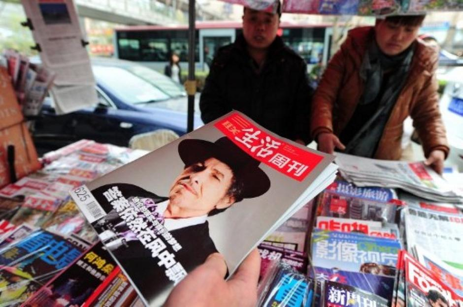 Dylan es conocido en todo el mundo y es un verdadero ícono en la historia de la música. (Foto: AFP)