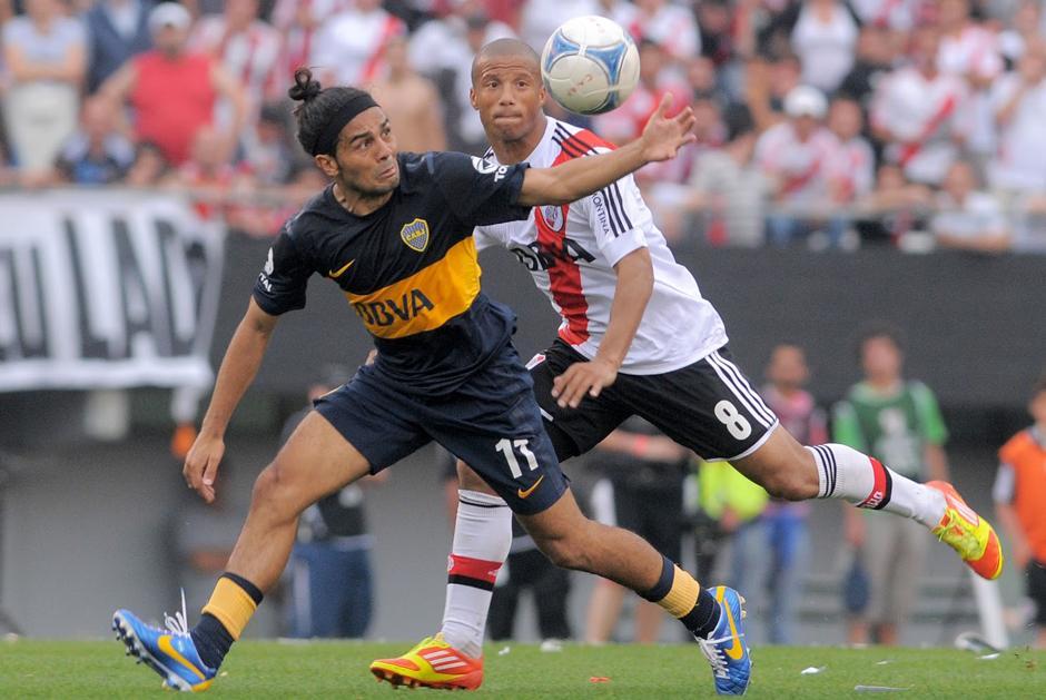 El superclásico entre River Plate y Boca Juniors se roba las miradas. (AFP)