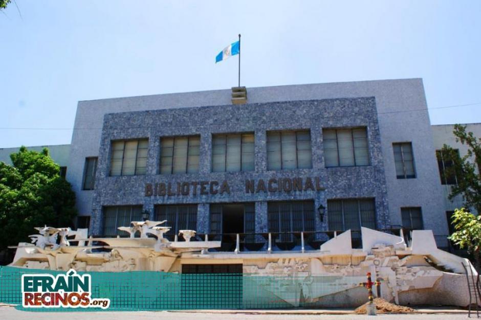 El mural de la Biblioteca Nacional Luis Cardoza y Aragón tiene uno de sus murales. (Foto: efraínrecinos.org)
