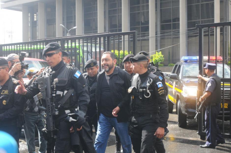 El exministro es sindicado en un nuevo caso de corrupción llamado La Cooperacha.  (Foto: Alejandro Balán/Soy502)