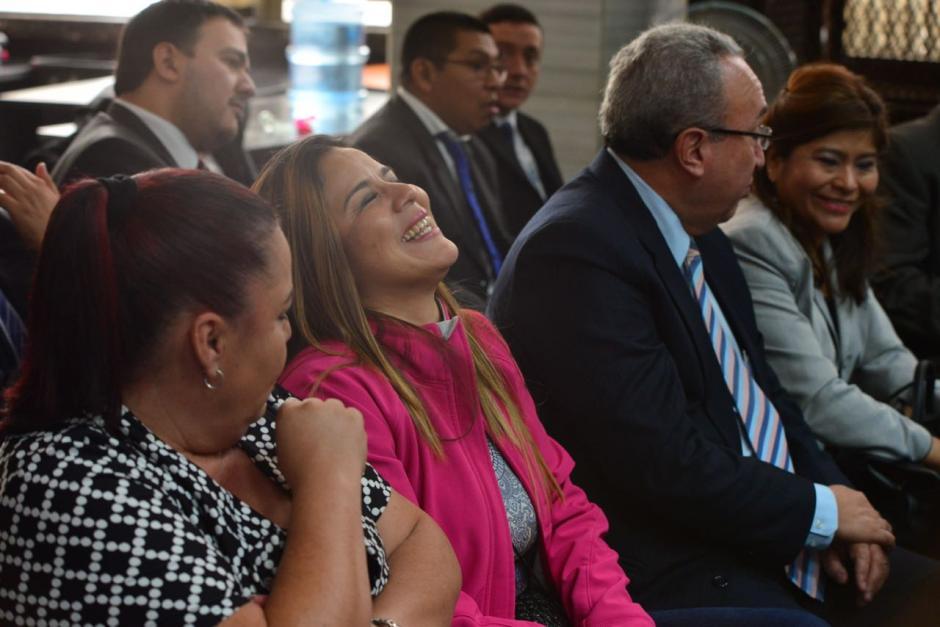 Claudia Méndez es una de las sindicadas en el caso La Línea. (Foto: Jesús Alfonso/Soy502)