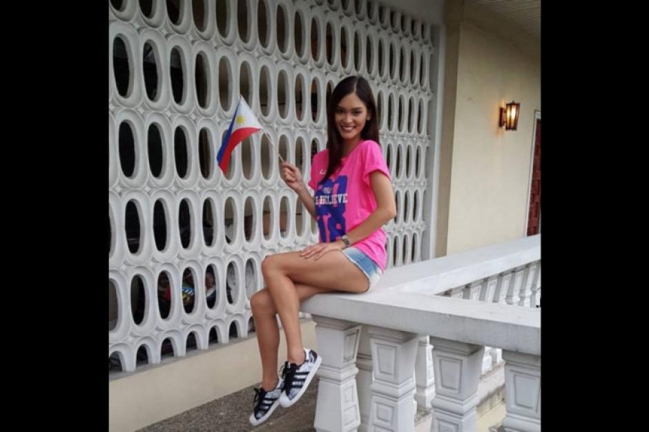 Pia nació en 1989 en Alemania, pero se crió en Filipinas. Es la tercera representante de esa nación que obtiene la corona.(Foto: Instagram Pia Wurtzbach)