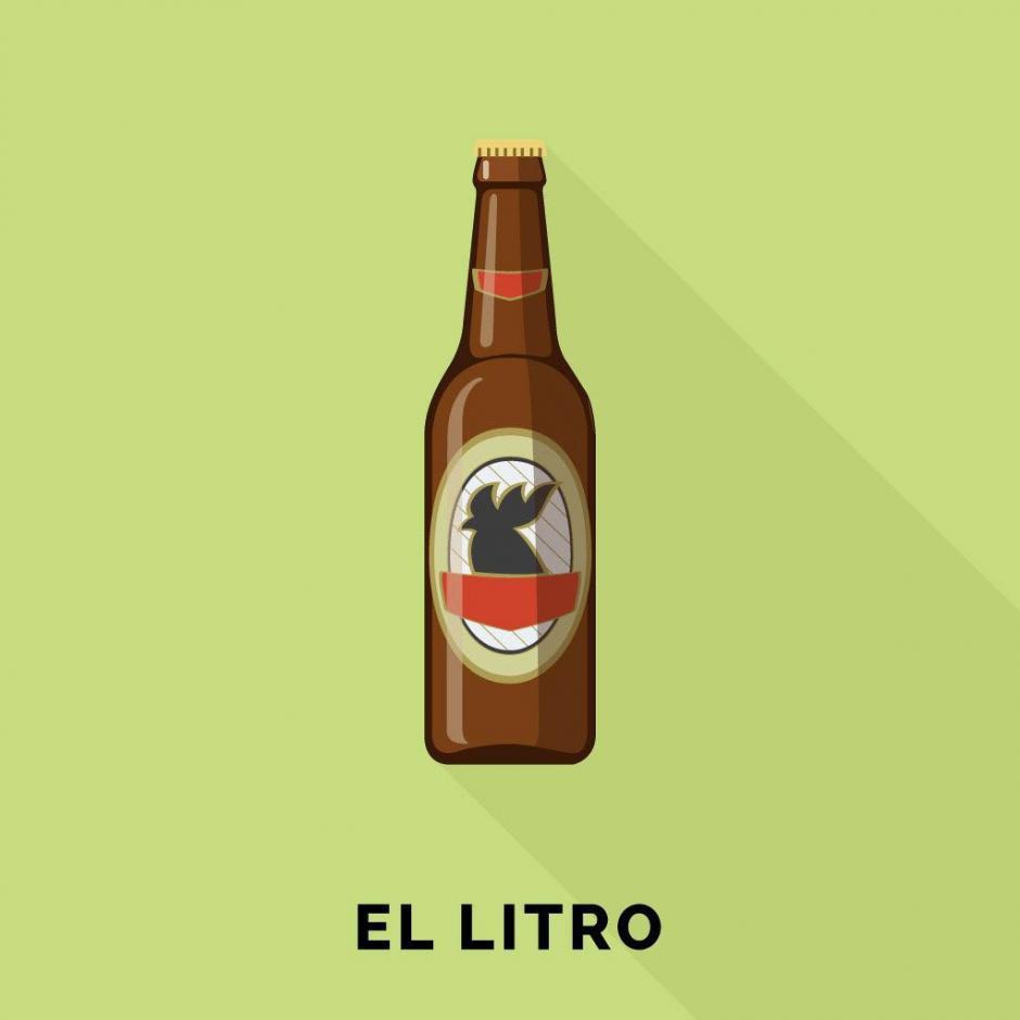 Para calmar el calor, nada mal que compartir un litro con tus cuates. (Foto: Guatemoji)