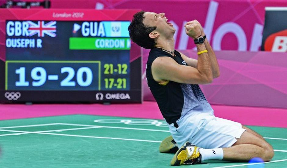 El badmintonista guatemalteco Kevin Cordón, ha llenado de triunfos a Guatemala. En la imagen el deportista nacional en los Juegos Olímpicos de Londres 2012. (Foto. Diego Galiano/Nuestro Diario)