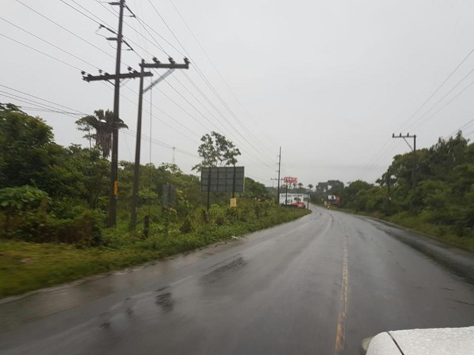 Las lluvias y nublados continuarán en el Norte, Franja Transversal y el Caribe. (Foto: @ConredGuatemala)