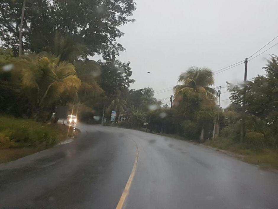 La tormenta tropical Earl yace sobre Petén, y se dirige hacia México. (Foto: @ConredGuatemala)