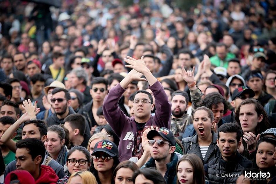 La banda recibió buenos comentarios de la crítica colombiana. (Foto: CM Lema/Idartes)