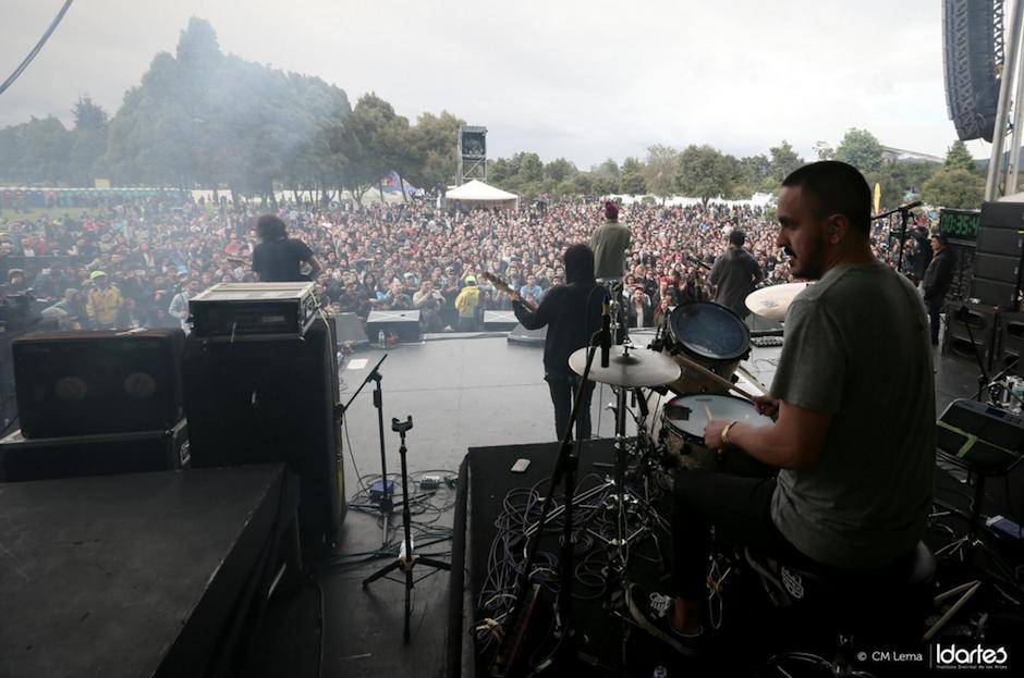 El público recibió a la banda con los brazos abiertos. (foto: CM Lema/Idartes)