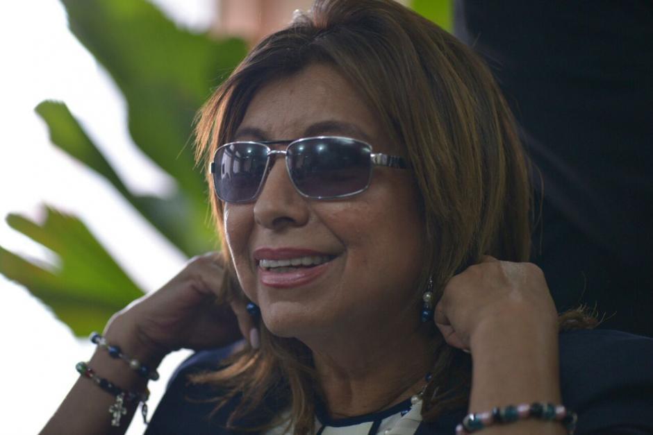 Anabella de León fue capturada el uno de septiembre por el caso Registro de la Propiedad. (Foto: Wilder López/Soy502)