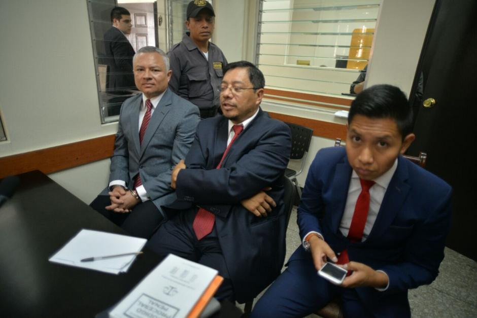 """El juez Moto dejó en libertad a """"Eco"""" pero no podrá hacerse efectiva por su vinculación en el caso La Línea. (Foto: Wilder López/Soy502)"""